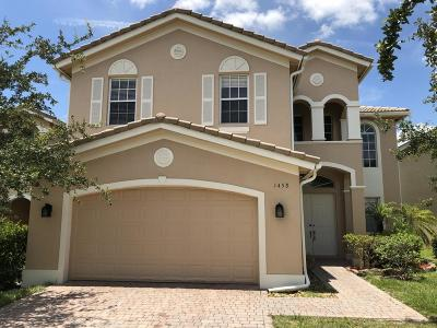 Port Saint Lucie Single Family Home For Sale: 1458 NW Leonardo Circle