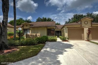 Boca Raton Single Family Home Contingent: 18539 Breezy Palm Way