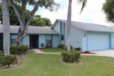 Boca Raton Single Family Home For Sale: 23337 SW 61st Avenue #b