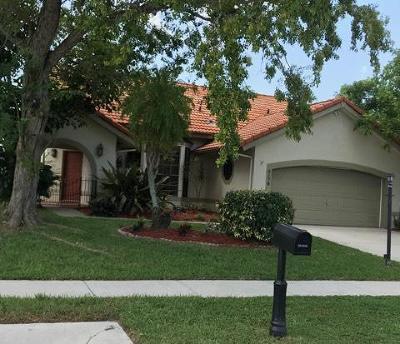 Boynton Beach FL Single Family Home For Sale: $279,900