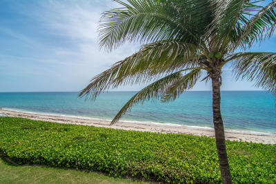 Palm Beach Condo For Sale: 3170 S Ocean Boulevard #403s