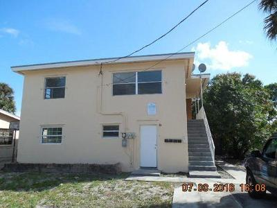 West Palm Beach Multi Family Home For Sale: 516 20th Street #A
