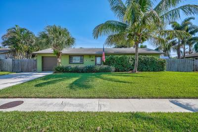 Palm Beach Gardens Single Family Home For Sale: 3283 Florida Blvd Boulevard
