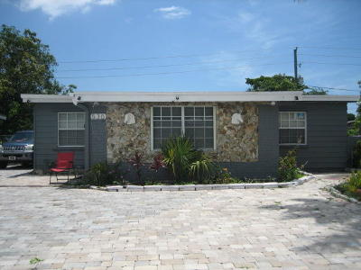 Fort Lauderdale Single Family Home For Sale: 530 NW 30th Terrace