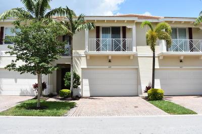 Palm Beach Gardens Townhouse For Sale: 4015 Kingston Lane