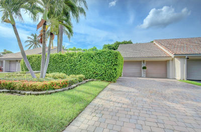 Boca Raton Single Family Home Contingent: 9687 Erica Court