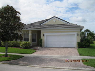 Port Saint Lucie Single Family Home Contingent: 175 NW Willow Grove Avenue