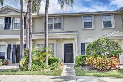 Delray Beach Townhouse For Sale: 1047 Kokomo Key Lane