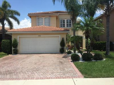 Boynton Beach Single Family Home For Sale: 11662 Rock Lake Terrace
