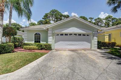 Greenacres Single Family Home For Sale: 156 Harbor Lake Circle
