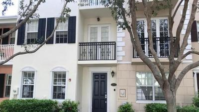 Delray Beach Townhouse For Sale: 1031 W Heritage Club Circle