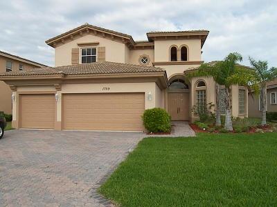 Vero Beach Single Family Home For Sale: 1759 Belmont Circle SW