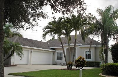 Jensen Beach Single Family Home For Sale: 2270 NW Windemere Drive