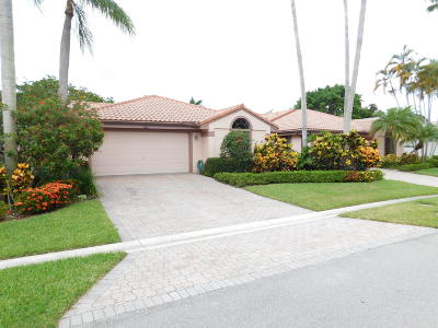 Delray Beach Single Family Home For Sale: 7664 Glendevon Lane
