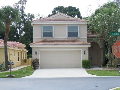 Lake Worth Single Family Home For Sale: 7616 Sierra Ridge Lane