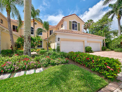 Palm Beach Gardens Condo For Sale: 121 Palm Bay Terrace #B