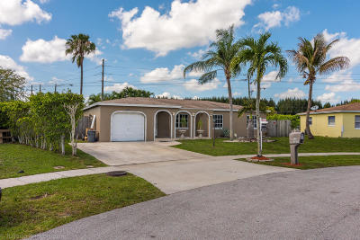 Boca Raton FL Single Family Home For Sale: $349,999