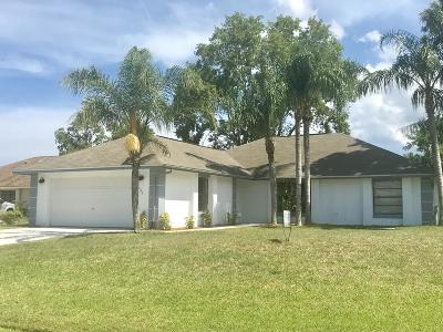 Port Saint Lucie Single Family Home For Sale: 302 SE Inwood Avenue