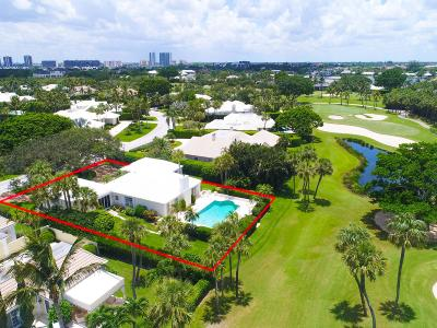 North Palm Beach Single Family Home For Sale: 1001 Lake House Drive