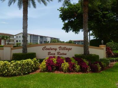Boca Raton Condo For Sale: 1015 Lincoln A