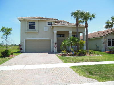 Fort Pierce Single Family Home For Sale: 4213 Troon Place
