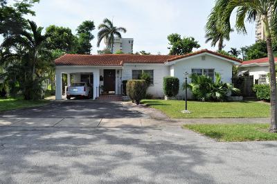 Miami Single Family Home For Sale: 1601 NE 110th Street