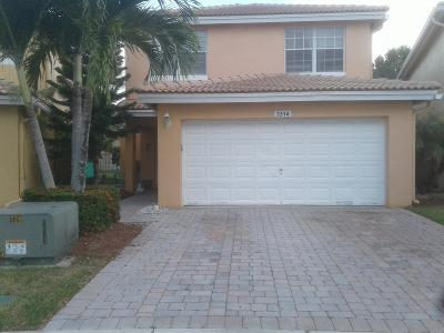 West Palm Beach FL Single Family Home For Sale: $270,000