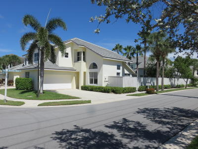 Jupiter Townhouse For Sale: 3046 Mainsail Circle