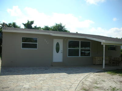 West Palm Beach FL Single Family Home For Sale: $250,000