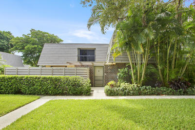 Palm Beach Gardens Townhouse For Sale: 805 8th Terrace