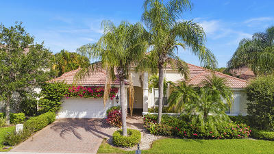 Palm Beach Gardens Single Family Home Contingent: 276 Sedona Way