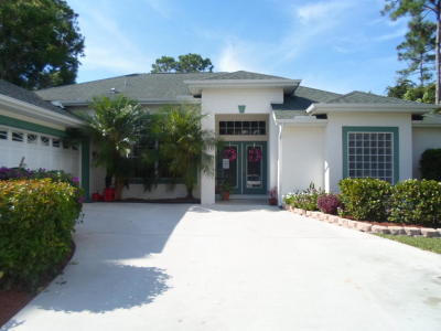 Port Saint Lucie Single Family Home For Sale: 2051 SW Del Rio Boulevard SW