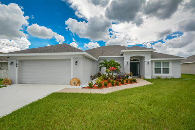Port Saint Lucie Single Family Home For Sale: 2188 SW Monterrey Lane