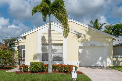 Delray Beach Single Family Home For Sale: 7772 Mansfield Hollow Road