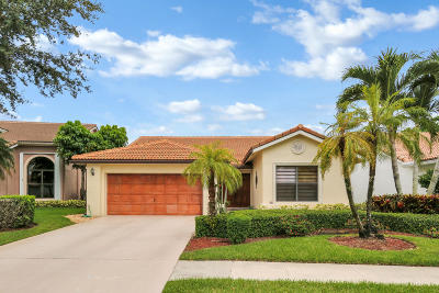 Boca Raton Single Family Home For Sale: 10553 Santa Laguna Drive