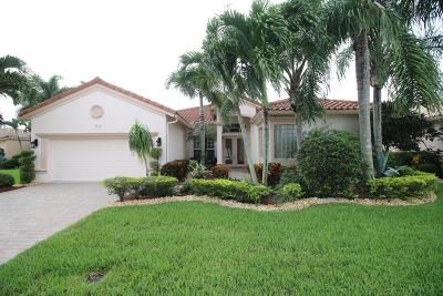 Lake Worth Single Family Home For Sale: 9512 Caserta Street