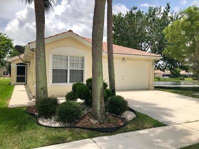 Boynton Beach Single Family Home For Sale: 8370 Bermuda Sound Way