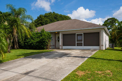 Port Saint Lucie Single Family Home For Sale: 1889 SW Penrose Avenue