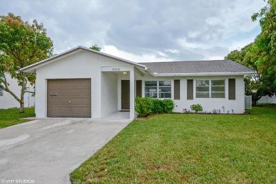 Tamarac Single Family Home For Sale: 7610 NW 67th Avenue