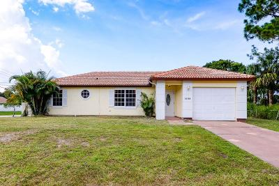 Port Saint Lucie Single Family Home For Sale: 1499 SW Herder Road