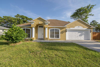 Port Saint Lucie Single Family Home For Sale: 473 SE Thornhill Drive
