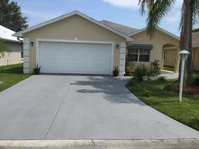 Okeechobee Single Family Home For Sale: 770 SE 25th Street