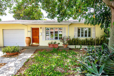 Lake Worth Single Family Home For Sale: 1708 L Street