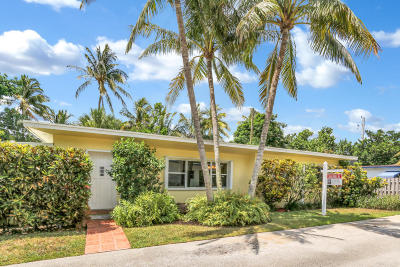 Ocean Ridge Single Family Home For Sale: 4 Bel Air Drive