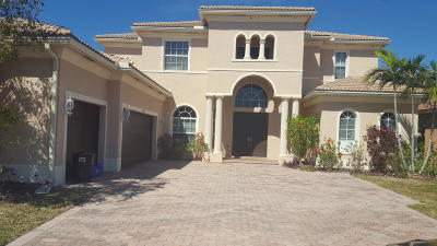 Lake Worth Single Family Home For Sale: 6039 Walnut Hill Drive