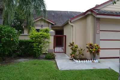 Greenacres Townhouse For Sale: 2202 Landings Boulevard