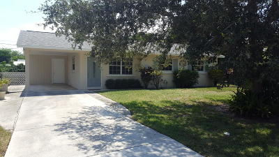 Tequesta Single Family Home Contingent: 19106 SE Mayo Drive