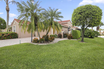 Boynton Beach Single Family Home For Sale: 7153 Granville Avenue