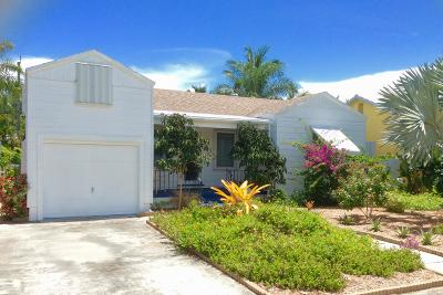 Lake Worth Single Family Home For Sale: 1128 O Street