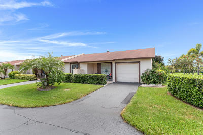 Delray Beach Single Family Home For Sale: 15711 Philodendron Circle